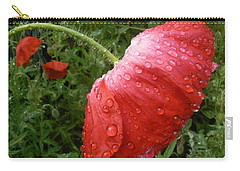 Heavy Head Poppy Carry-all Pouch
