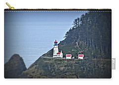 Carry-all Pouch featuring the photograph Heceta Head Light House by Nick Kloepping