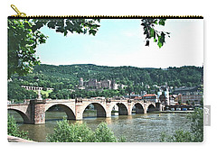 Heidelberg Schloss Overlooking The Neckar Carry-all Pouch