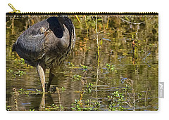 Carry-all Pouch featuring the photograph Heimlich Please by Gary Holmes