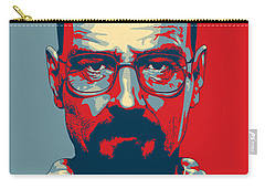 Carry-all Pouch featuring the digital art Heisenberg by Taylan Apukovska