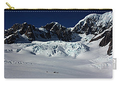 Carry-all Pouch featuring the photograph Helicopter New Zealand  by Amanda Stadther