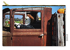 Carry-all Pouch featuring the photograph Hell Bent To Market by Michael Gordon