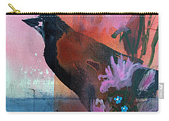 Hello Crow Carry-all Pouch