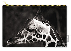 Carry-all Pouch featuring the photograph Hello Up There by Doc Braham