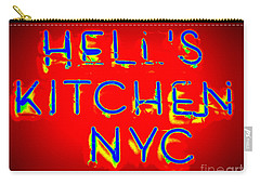 Hell's Kitchen Nyc Carry-all Pouch by Ed Weidman
