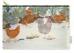 Hens In The Vegetable Patch Carry-all Pouch