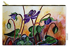 Hepatica After A Design By Anne Wilkinson Carry-all Pouch