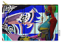 Her Abstract Journey Carry-all Pouch