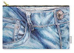 Her Favorite Pair Of Jeans Carry-all Pouch