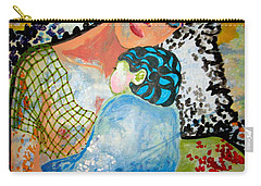Carry-all Pouch featuring the painting Her Love by Amy Sorrell