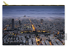 Carry-all Pouch featuring the photograph Here Comes The Fog  by Ron Shoshani