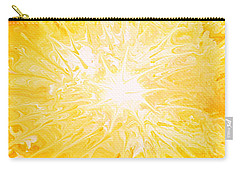 Here Comes The Sun Carry-all Pouch by Kume Bryant