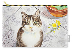 Here Kitty Kitty Kitty Carry-all Pouch