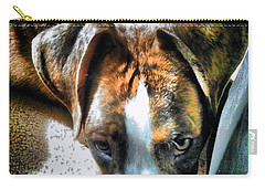 Carry-all Pouch featuring the photograph Here's Lookin Atchya by Robert McCubbin