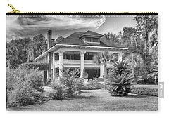 Carry-all Pouch featuring the photograph Herlong Mansion by Howard Salmon