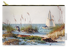 Heron And Sailboat Carry-all Pouch