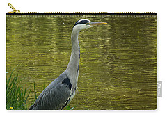 Heron Statue Carry-all Pouch