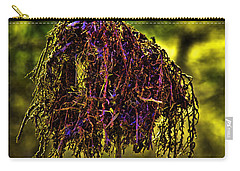 Carry-all Pouch featuring the photograph Heron Totem by Gary Holmes
