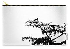 Carry-all Pouch featuring the digital art Herons by Lizi Beard-Ward