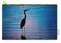 Herons Moment Carry-all Pouch by Karol Livote