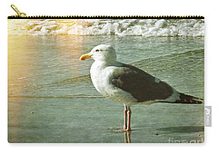 Herring Gull Watching Carry-all Pouch