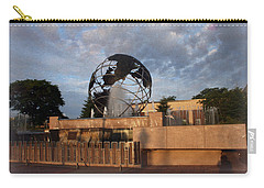 Carry-all Pouch featuring the photograph He's Got The Whole World In His Hands by Kay Novy