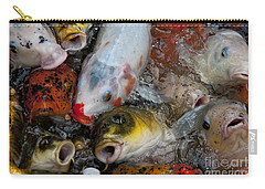 Carry-all Pouch featuring the photograph Hey Whats Happening by Wilma  Birdwell