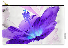 Hibiscus - After The Rain - Photopower 754 Carry-all Pouch by Pamela Critchlow