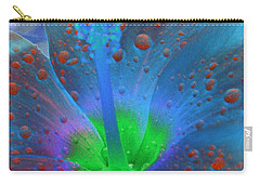 Hibiscus - After The Rain - Photopower 775 Carry-all Pouch by Pamela Critchlow