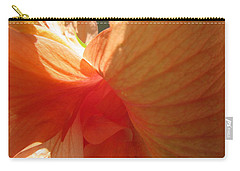 Hibiscus Butterfly Carry-all Pouch