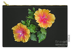 Hibiscus Duo Carry-all Pouch