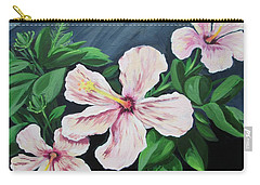 Hibiscus No. 1 Carry-all Pouch