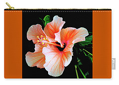 Hibiscus Spectacular Carry-all Pouch by Ben and Raisa Gertsberg