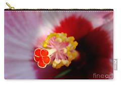 Hibiscus Stigma Pads Carry-all Pouch
