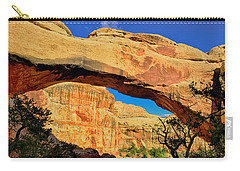 Carry-all Pouch featuring the photograph Hickman Bridge by Greg Norrell