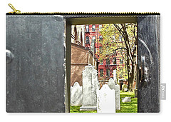 Carry-all Pouch featuring the photograph Hidden New York by Joan Reese
