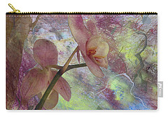 Hidden Orchid Carry-all Pouch by Donna Walsh