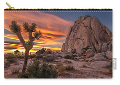 Hidden Valley Rock - Joshua Tree Carry-all Pouch