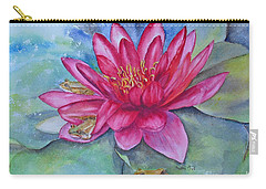 Carry-all Pouch featuring the painting Hide And Seek by Beatrice Cloake
