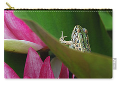 Hiding On The Lily Pad No.2 Carry-all Pouch