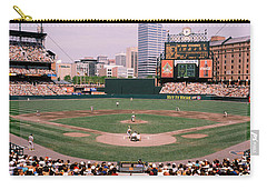 High Angle View Of A Baseball Field Carry-all Pouch by Panoramic Images