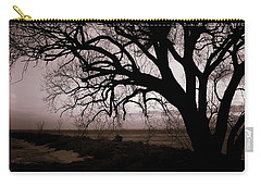 Carry-all Pouch featuring the photograph High Cliff Beauty by Lauren Radke