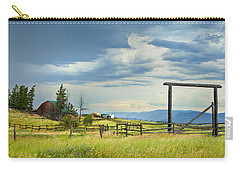 High Country Farm Carry-all Pouch by Theresa Tahara