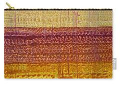 High Desert Horizon Original Painting Carry-all Pouch by Sol Luckman