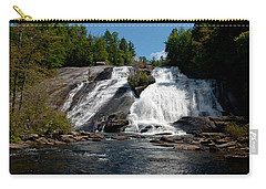 High Falls North Carolina Carry-all Pouch by Charles Beeler