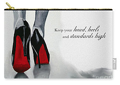 High Standards Carry-all Pouch by Rebecca Jenkins