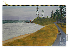 High Tide  Carry-all Pouch by Pamela  Meredith