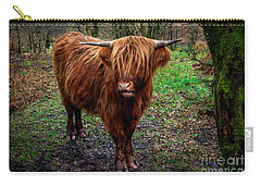 Highland Beast  Carry-all Pouch by Adrian Evans