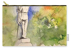 Highland Cemetery-plein Air-ypsilanti Michigan 1 Carry-all Pouch